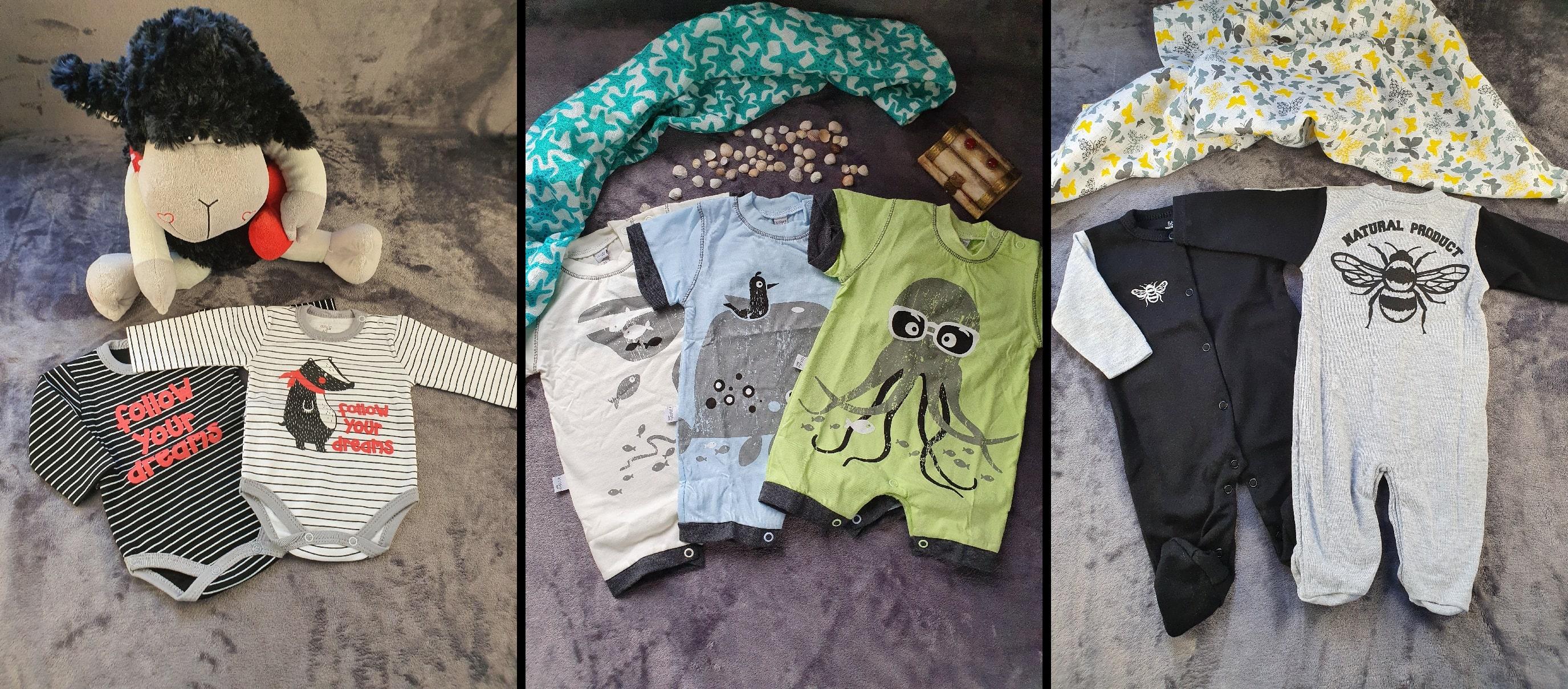 ubranka dla niemowląt 1
